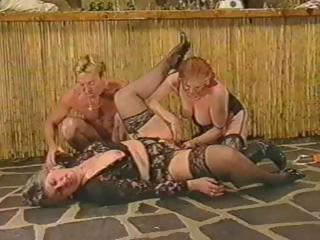 classic porn with these mature ladies getting a