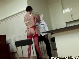 nylons dilettante older slut in heels
