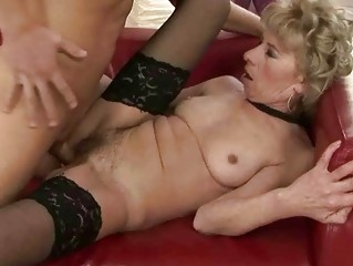wicked granny fucking with young dude