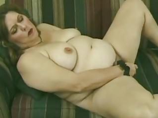 big beautiful woman aged bushy mom