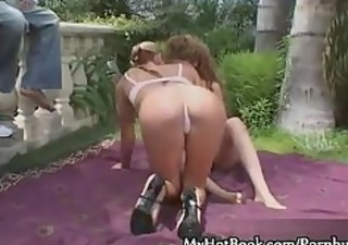 ashley lengthy and yasmine vega are the ladies in