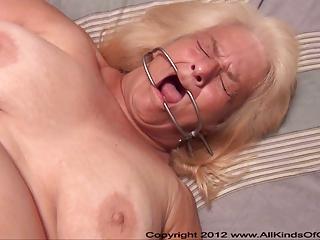 pov anal 82 year old granny wanda acquires bound