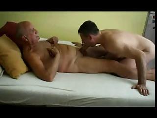 grandpa and boyfriend