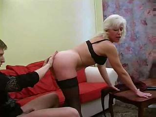 blond russian mature bonks