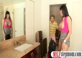 large juggs stepmom eva karera 10some with