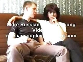 russian aged mama amalia with her chap