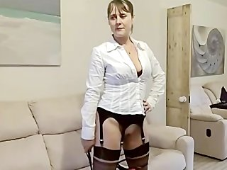 hot wife drilled in boots &amp nylons