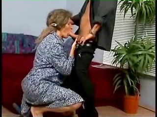 hirsute granny fuck youthful guy