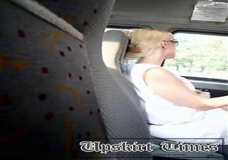 upskirt maxi taxi d like to fuck panties whites