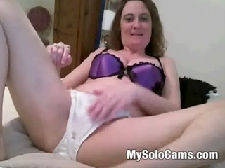 mature in satin panties
