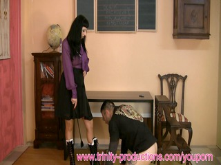 mother i mistresse humiliates chap ding-dong fuck
