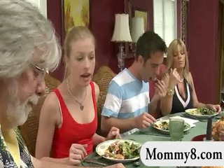 older stepmom acquires it is on with a clueless