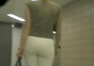 bootyful in white panties