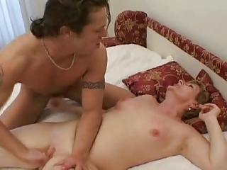 mama and lad vehement hard fucking