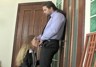 russian office cutie secretary