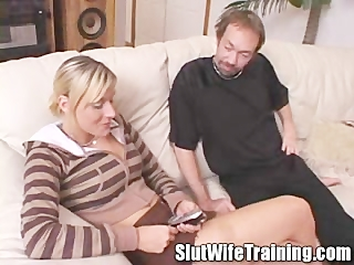 older wife taking up a doxy wife training