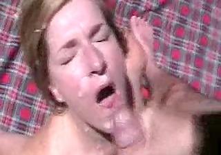 wife outdoor facial