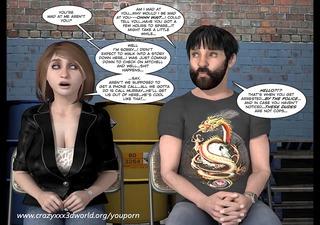 3d comic: langsuirs chronicles. episode 101