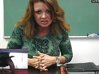 busty mother i teacher masturbates in hawt dark