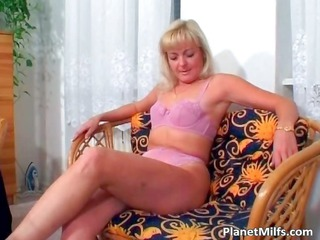 old blonde floozy rides large cock on the part6